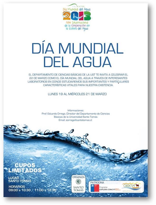 Afiches Del Dia Del Agua   MEJOR CONJUNTO DE FRASES